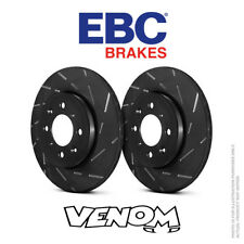GD1536 EBC Turbo Grooved Brake Discs Front fit NISSAN RENAULT PAIR