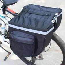 Bicycle Seat Rear Bag Waterproof Bike Pannier Rack Pack Cycling Carrier AR UK