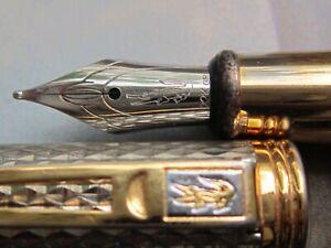 Vintage Fountain Pen Lacoste 22 K GP ink Pen
