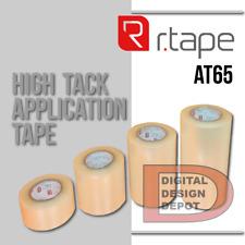 R-Tape At65, tranfer tape clear 4 x 300 feet.
