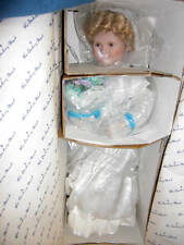 """Danbury Mint 17"""" Shirley Temple Collector Doll """"Curly Top"""" MINT ~ NIB"""
