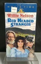 Red Headed Stranger (VHS, 1998, Movie Time) Willie Nelson - New Factory Sealed