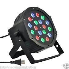 PAR LED 18x1W PAR(18W)RGB LIGHTING DJ PARTY DISCO SPOT LAMP STAGE LIGHT DMX SHOW