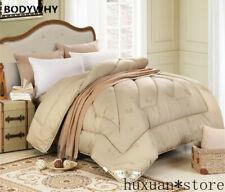 100% Camel Wool Hair Twin Full Queen King Sz Comforter Winter Hotel Duvets Home