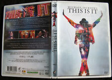 Michael Jackson DVD THIS IS IT French Edition Simple Movie Film Zone 2 R2 2010