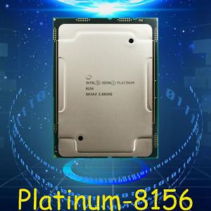 Intel Xeon CPU Platinum 8156 SR3AV 3.6GHz (Retail version) LGA-3647 Processor