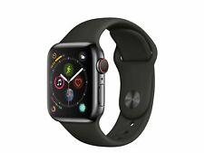Apple Watch Series 4 Nike+ 44mm Aluminiumgehäuse in Space Grau NEUWERTIG