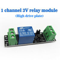 (USA) Single Channel 3V Relay Isolation Drive Control Module High Drive Plate
