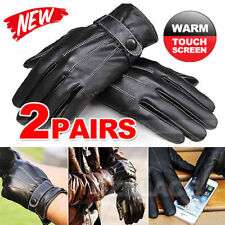 Faux Leather Mittens Gloves & Mittens for Men