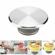 12IN ROTATING CAKE ICING DEOCRATING REVOLVING KITCHEN DISPLAY STAND TURNTABLES