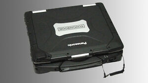 Rugged Panasonic Toughbook CF-30 Touch,  Win 7 64bit, 250GB SSD, 4GB RAM, DVD