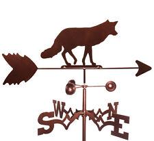 Fox  Weathervane  With Garden   Mounting