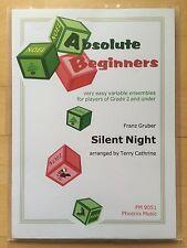 Silent Night, Stille Nacht: 4-stimmiges Arrangement flexibles Ensemble/Orchester