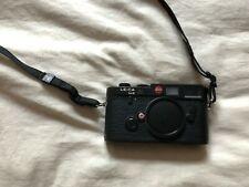 Leica M6 Black 35mm Rangefinder Film Camera Body - Great Condition