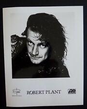 Robert Plant of Led Zeppelin Rare Promo 8x10 Photo Atlantic #1