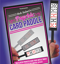 Psychic Card Paddle by Bob Solari from Murphy's Magic