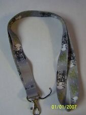 Nightmare Before Christmas Lanyard Gray