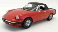 KK Models 1/18 Scale - 180171 - Alfa Romeo Spider 3 Series 1 1983 red