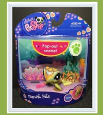 NEW NIB LITTLEST PET SHOP FANCIEST PETS SEA TURTLE #1836 w/ 1 FREE RANDOM PET