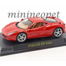 ALTAYA FERRARI 458 ITALIA 1/43 DIECAST MODEL CAR RED