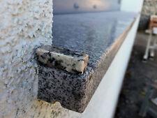 Wasserabweiser Wasserrille Randprofil f. Aussenfensterbank Fassade Sohlbank Neu
