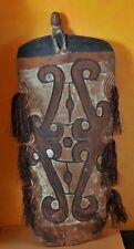 Original War Shield, Tameng, Papua New Guinea, Asmat Tribe, c. 1930's