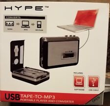 HYPE TAPE-TO-MP3 PORTABLE PLAYER AND CONVERTER