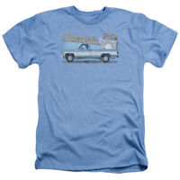 Chevrolet OLD SILVERADO SKETCH Licensed Adult Heather T-Shirt All Sizes