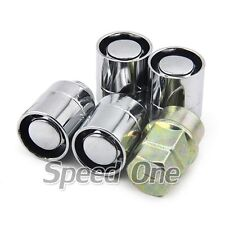 4 M12 1.5mm Alloy Wheel Lug Lock Nuts Silver for Honda Accord Civic S2000 Pilot