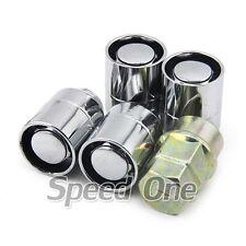 4 M12 1.5mm Alloy Wheel Lug Lock Nuts Silver for Honda Accord Civic S2000 Pilot