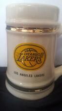 Los Angeles Lakers NBA Vintage mid-1970s Ceramic Mug Beer Stein - Lewis Brothers