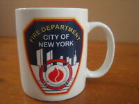 Fire Department New York City Coffee Mug Cup FDNY