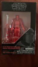 Star Wars The Black Series Elite Praetorian Guard (The Last Jedi) Figure 3.75 in