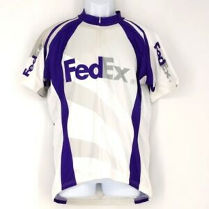 Fedex Bike Cycling Jersey Men's Size XL