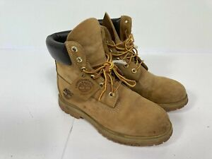 Timberland Ladies Natural Premium Waterproof Leather Boots size 7 A66