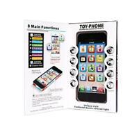 Babytelefon Kleinkinder Smartphone Spielzeughandy Pädagogisches Toys Lernen J0L1