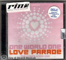 ONE WORLD ONE LOVE PARADE (2 CD) 2000 (SIGILLATO)