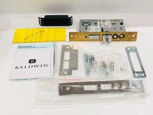 "Baldwin 6375.055.RLS Entrance Mortise Lock Right Hand 2-1/2"" in. Backset"