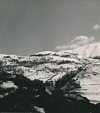 BEUIL c. 1935 - Le Village sous la Neige  Alpes-Maritimes - DIV8687