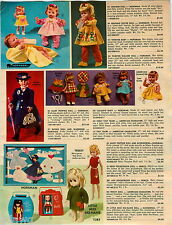 1967 PAPER AD Doll Mary Poppins Horsman Remco Mattel Francie Barbie Skipper Tiny