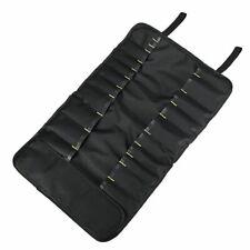 Bag Repair Roll Portable Kitchen Utensil Storage Carry Case 22 Pocket For Knife