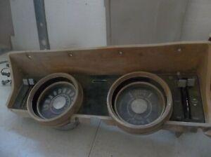 1966 Ford Falcon Ranchero Instrument Panel