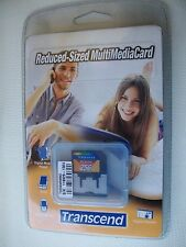 MEMORY CARD-256 MB- TRANSCEND REDUCED SIZED MULTIMEDIA CARD