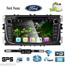 Multimedia Car Stereo for Ford Focus S-max Mondeo Galaxy Kuga DVD GPS Navigation