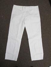 Womens Chef Pants cook white kitchen basixs size 16 40 x 34 unhemmed New