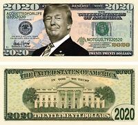 Vote Biden FREE SLEEVE Harris 2020 Election Million Dollar Bill Novelty Note