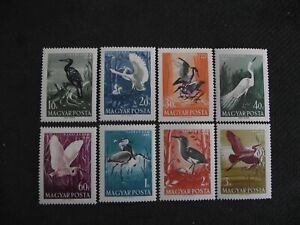 Hungary 1959  Water Birds.  MNH set.