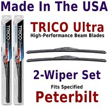 Buy American: TRICO Ultra 2-Wiper Blade Set fits listed Peterbilt: 13-19-19