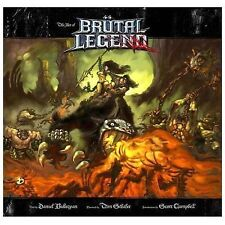 Art of Brutal Legend by Scott Campbell (English) Hardcover Book
