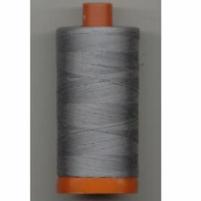Aurifil Thread #2605 Grey Cotton Mako 50 wt 1422 yard spool